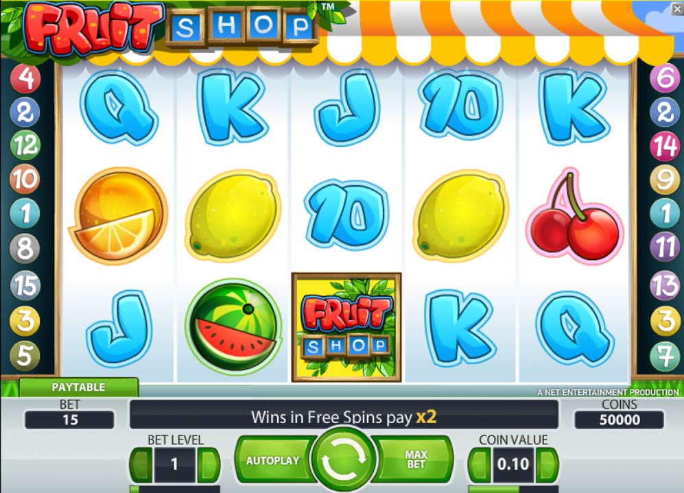 Fruit Shop Online Casino